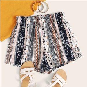 Stellar Boho Shorts- NWT